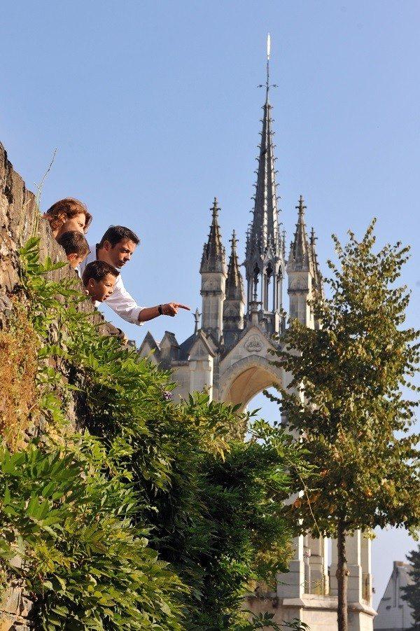 Le quartier de la Doutre Angers