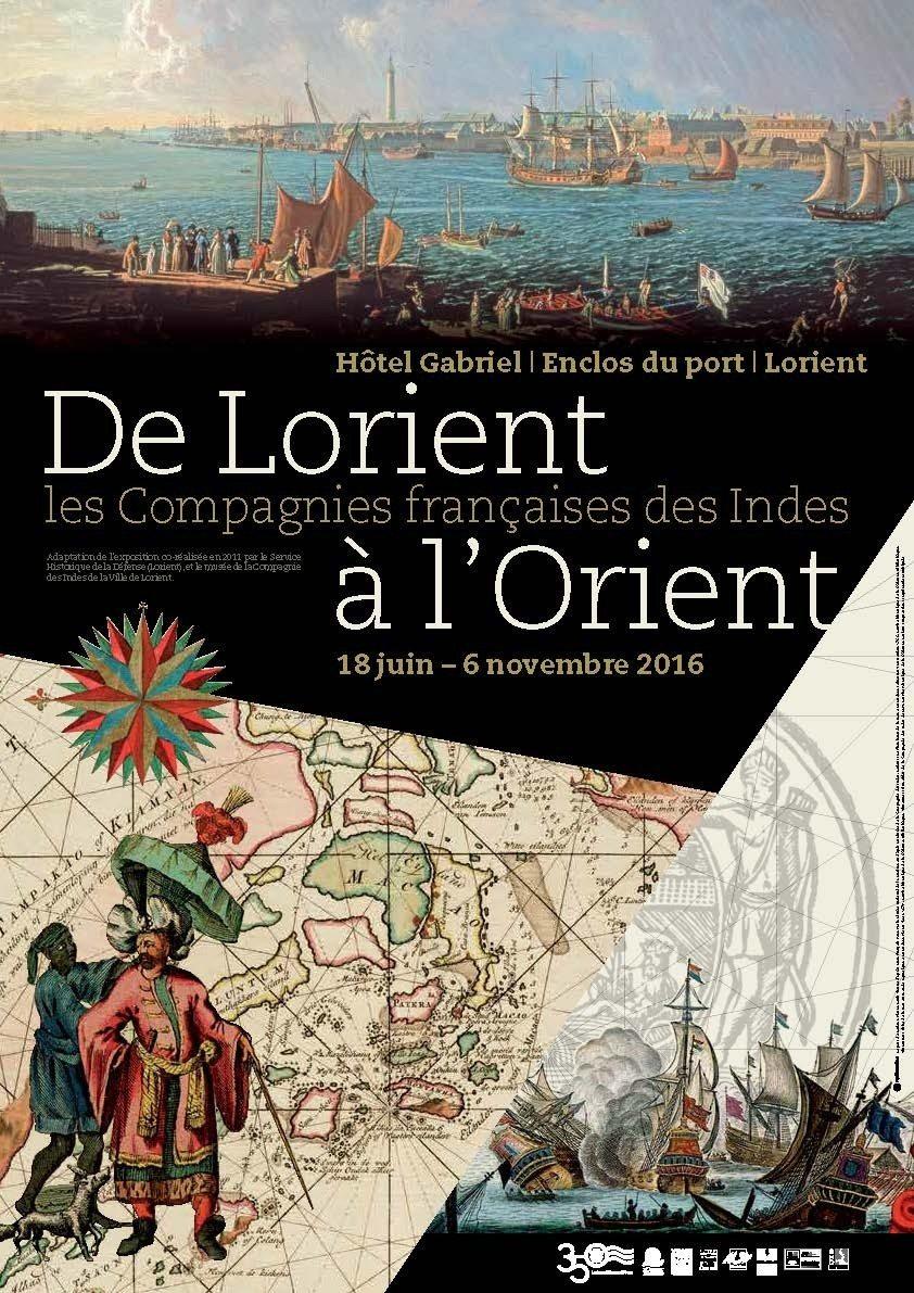 Lorient, port de la Compagnie des Indes Lorient