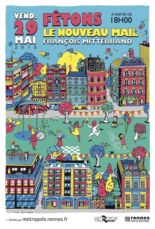 Mail François Mitterrand Rennes