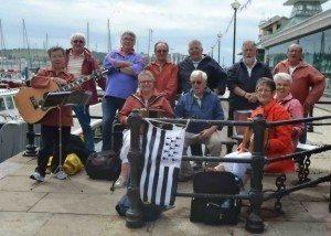 Marins des légendes en concert Carantec
