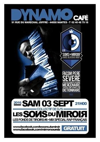 Mix spécial Rap Français avec les Sons du miroir Nantes
