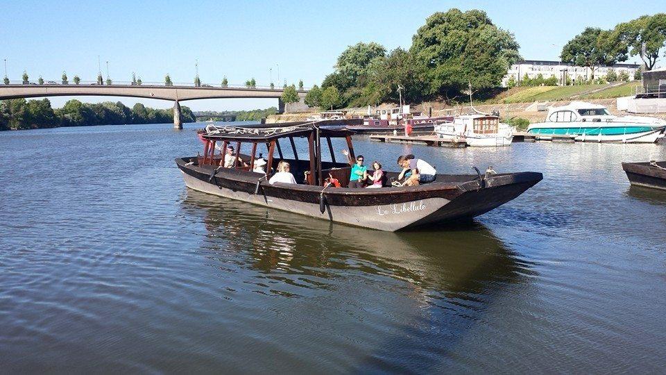 Navettes fluviales sur la Loire Angers