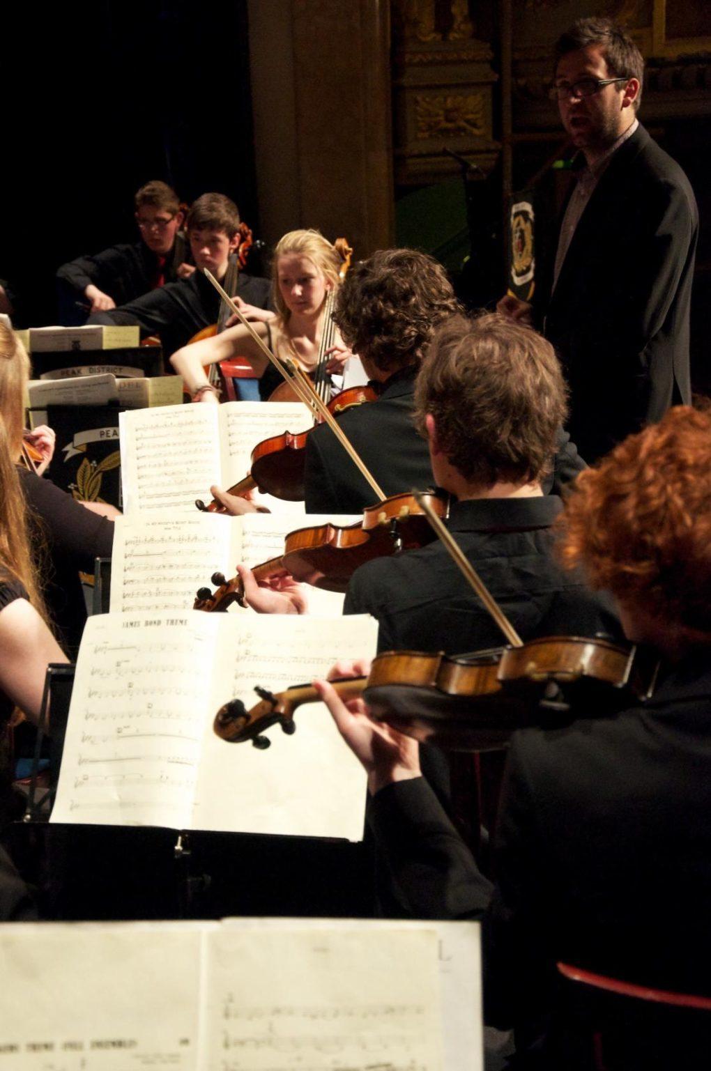 Peak district string orchestra Honfleur