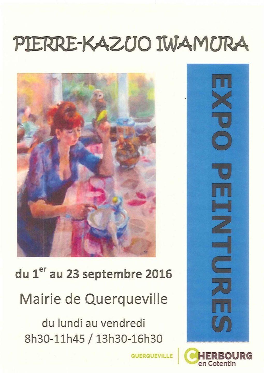 Peinture de Pierre-Kazuo Iwamura Cherbourg-en-Cotentin