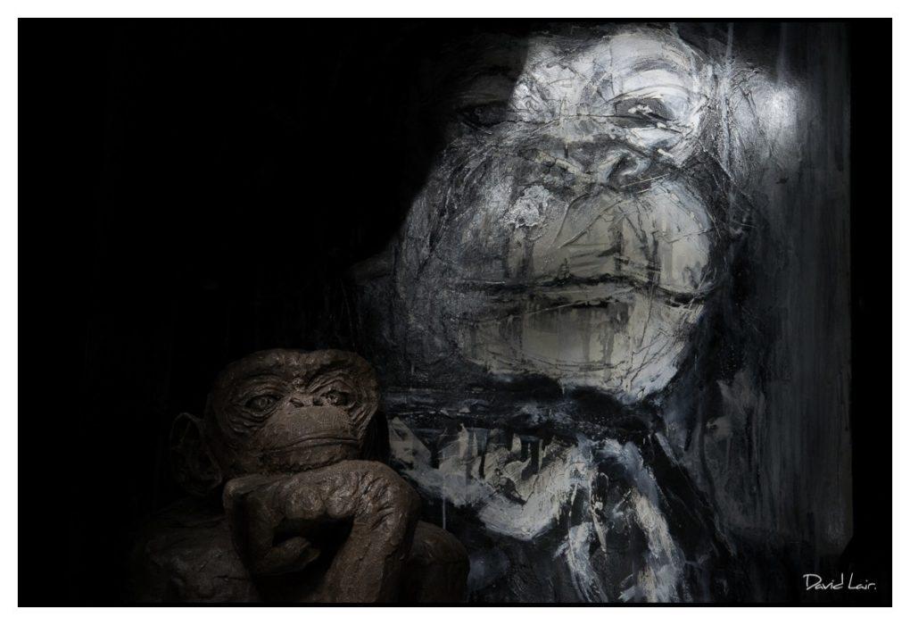 Photographies, peintures et sculptures, Nous les singes Loireauxence