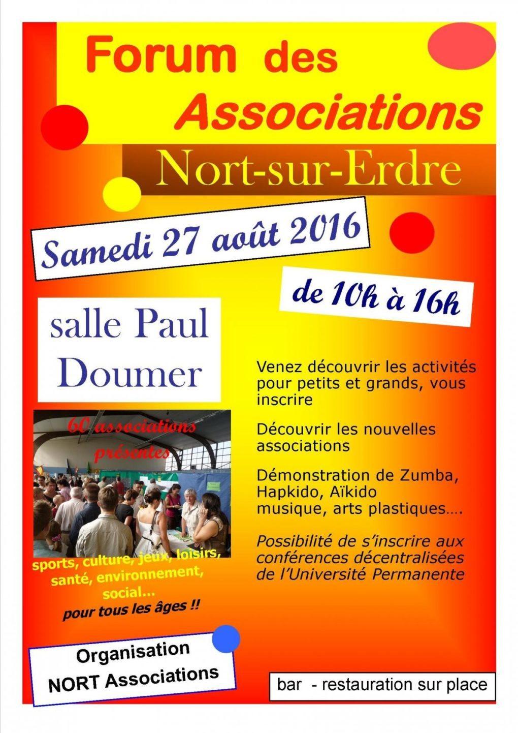 Polyglotte au Forum des associations Nort-sur-Erdre