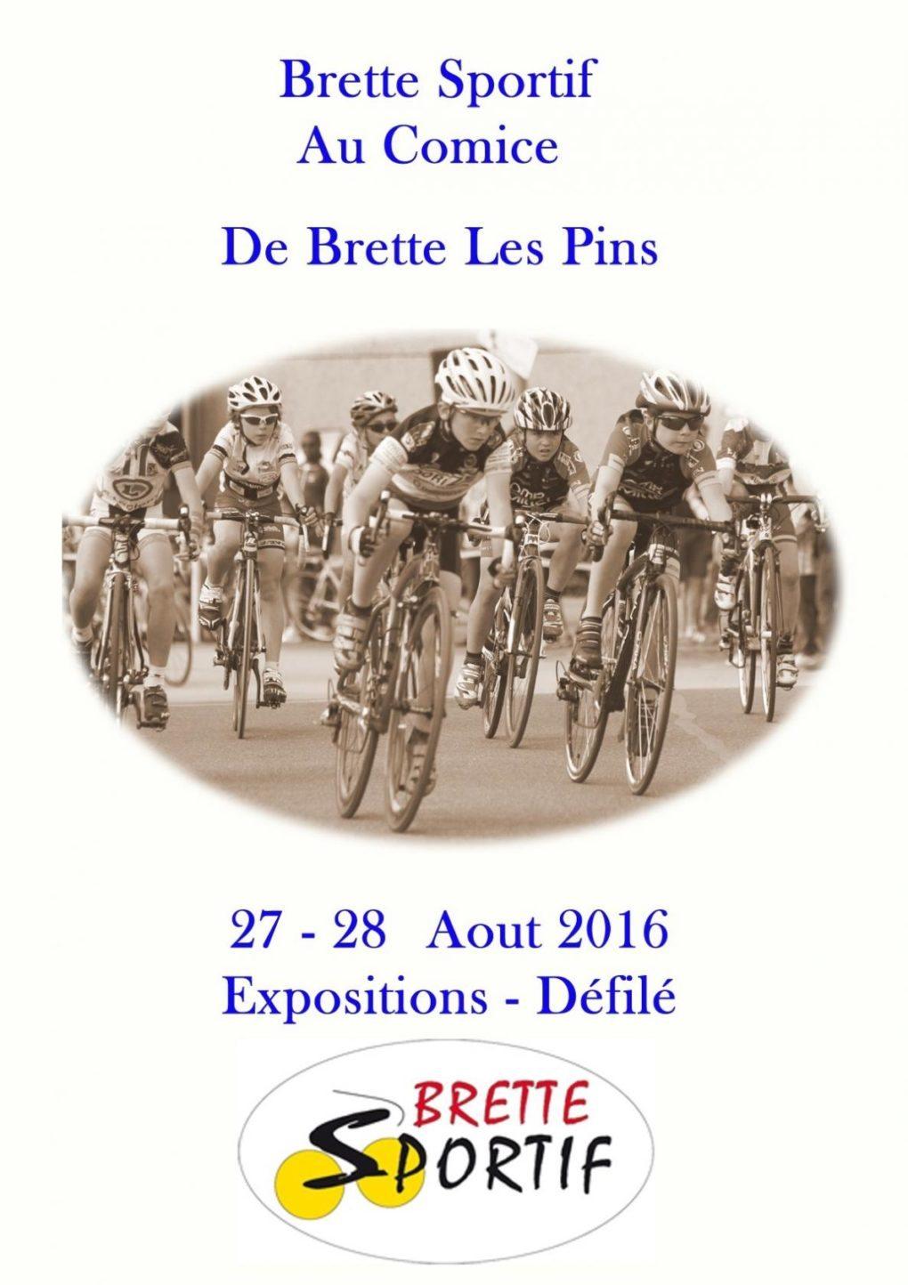 Présence de l'association Brette sportifs au comice Brette-les-Pins