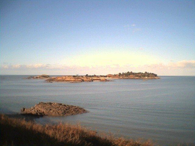 Balade d'automne, vers l'archipel des Ebihens Saint-Jacut-de-la-Mer