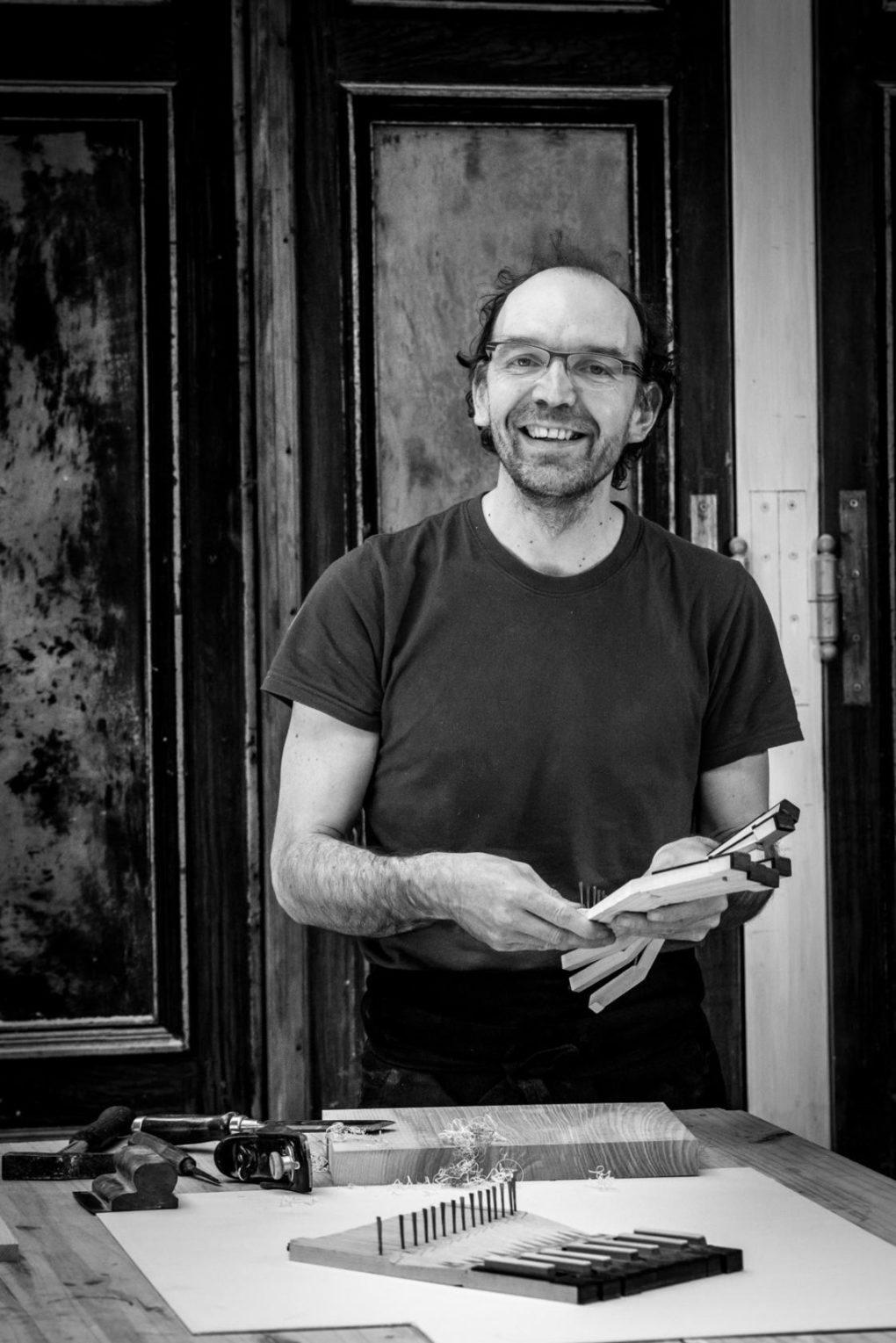Rencontre avec Cyril Fortin, restaurateur de clavicorde Vitré