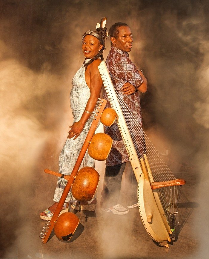 Sally Nyolo & Djeli Moussa Diawara Mvetkora Rennes