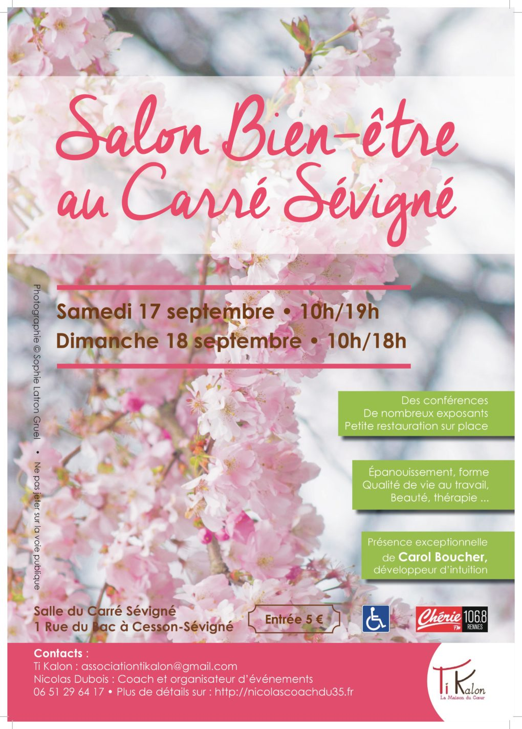 Salon bien tre cesson s vign 1 re dition 17 septembre for Salon du bien etre paris