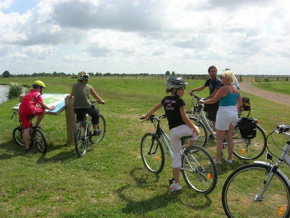 Sortie découverte à vélo Angles