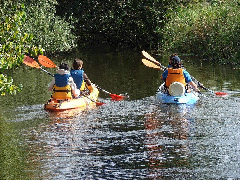 Sortie kayak En pagayant sur l'Elle Neuilly-la-Forêt