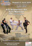 Stage gratuit : découverte des arts martiaux Laval
