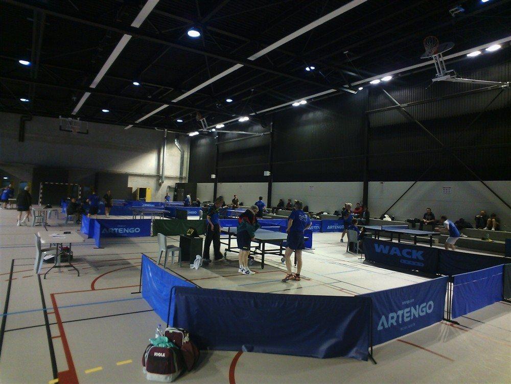 Tennis de table Trélazé section du Foyer espérance Trélazé