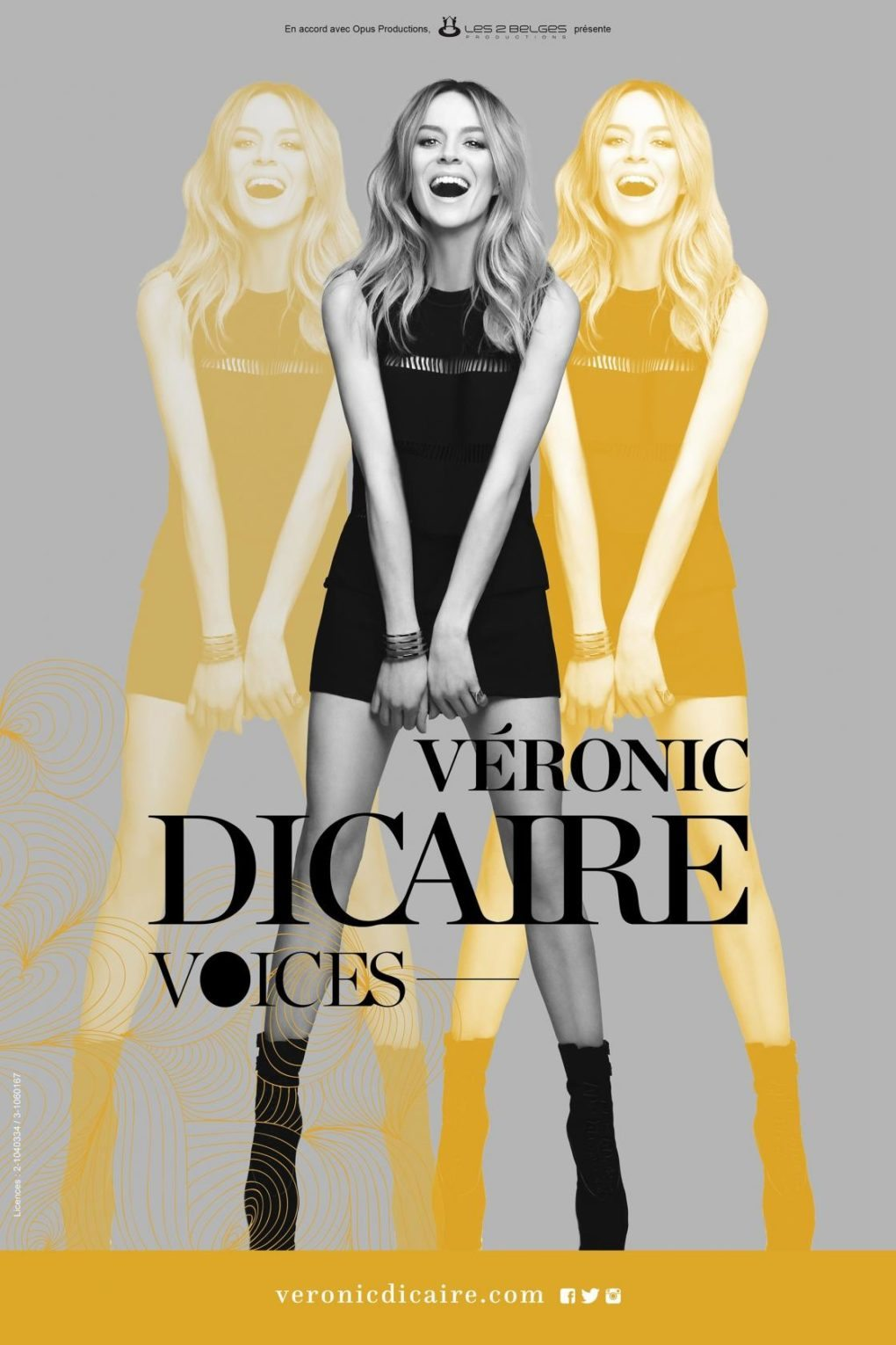 Véronic Dicaire Voices Saint-Herblain