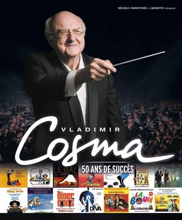 Vladimir Cosma 50 ans de succès Saint-Herblain
