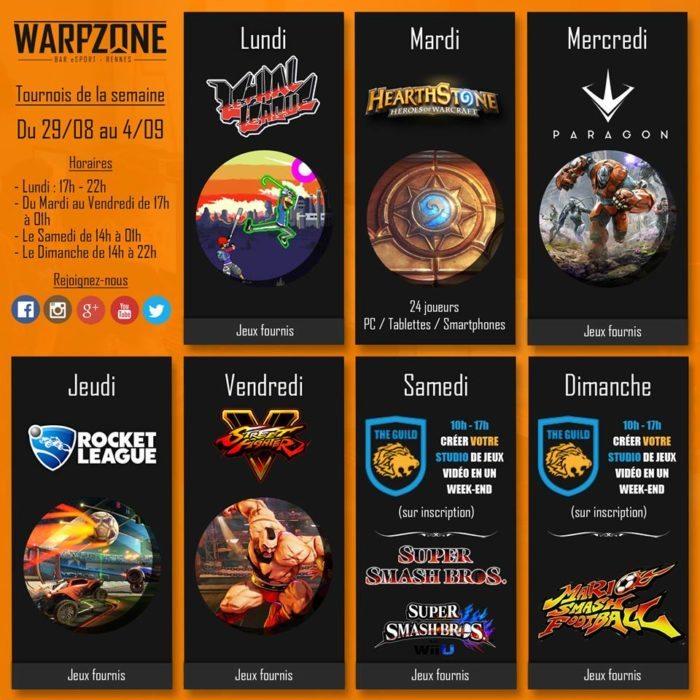 WarpZone bar eSport