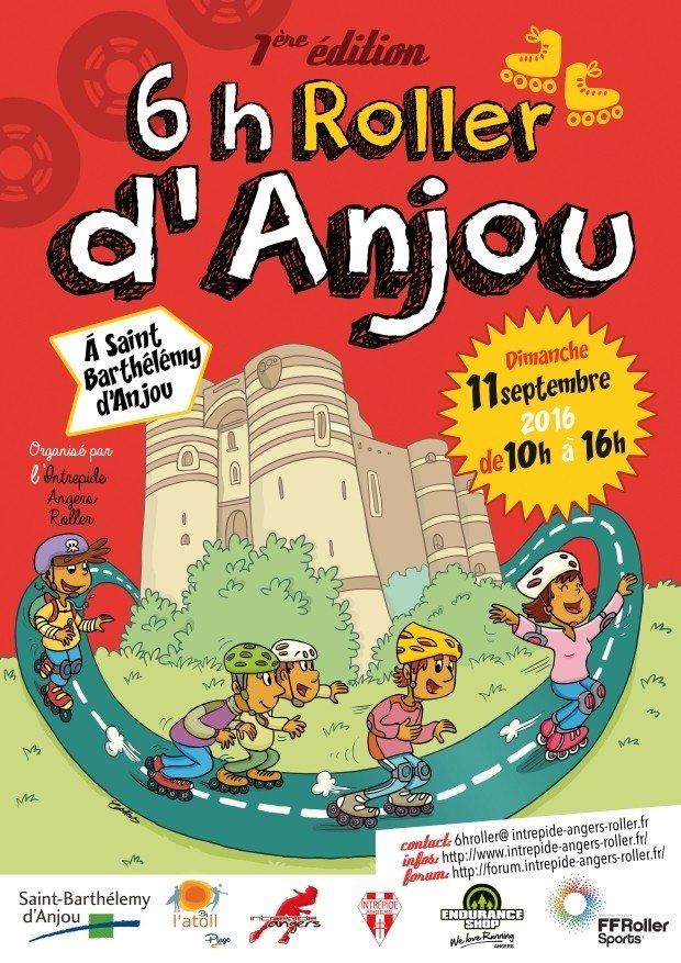 6 h roller d'Anjou Saint-Barthélemy-d'Anjou