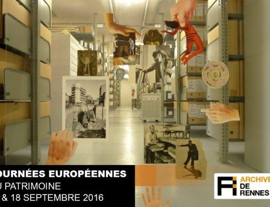 Journées européennes du patrimoine 2016 - Archives de Rennes