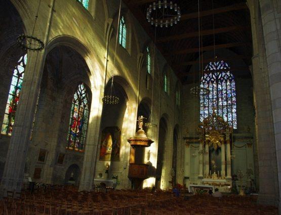 Eglise Saint-Germain - la nef