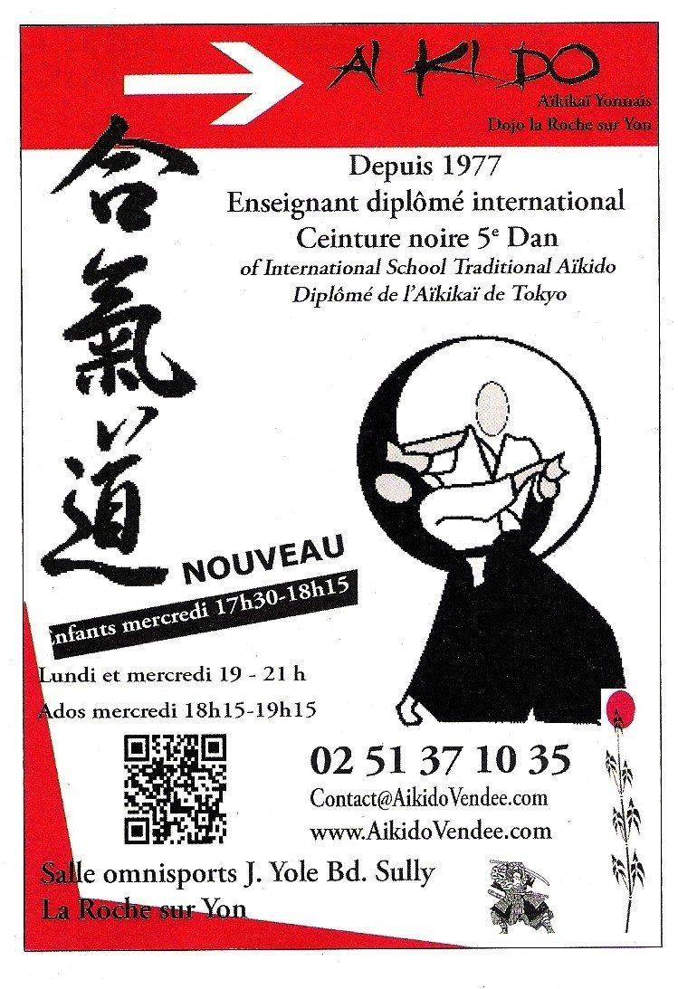 Aïkido, reprise des cours Olonne-sur-Mer