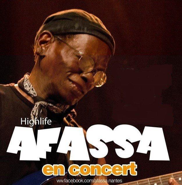 Afassa (high life, musique afro-cubaine, jazz) Nantes