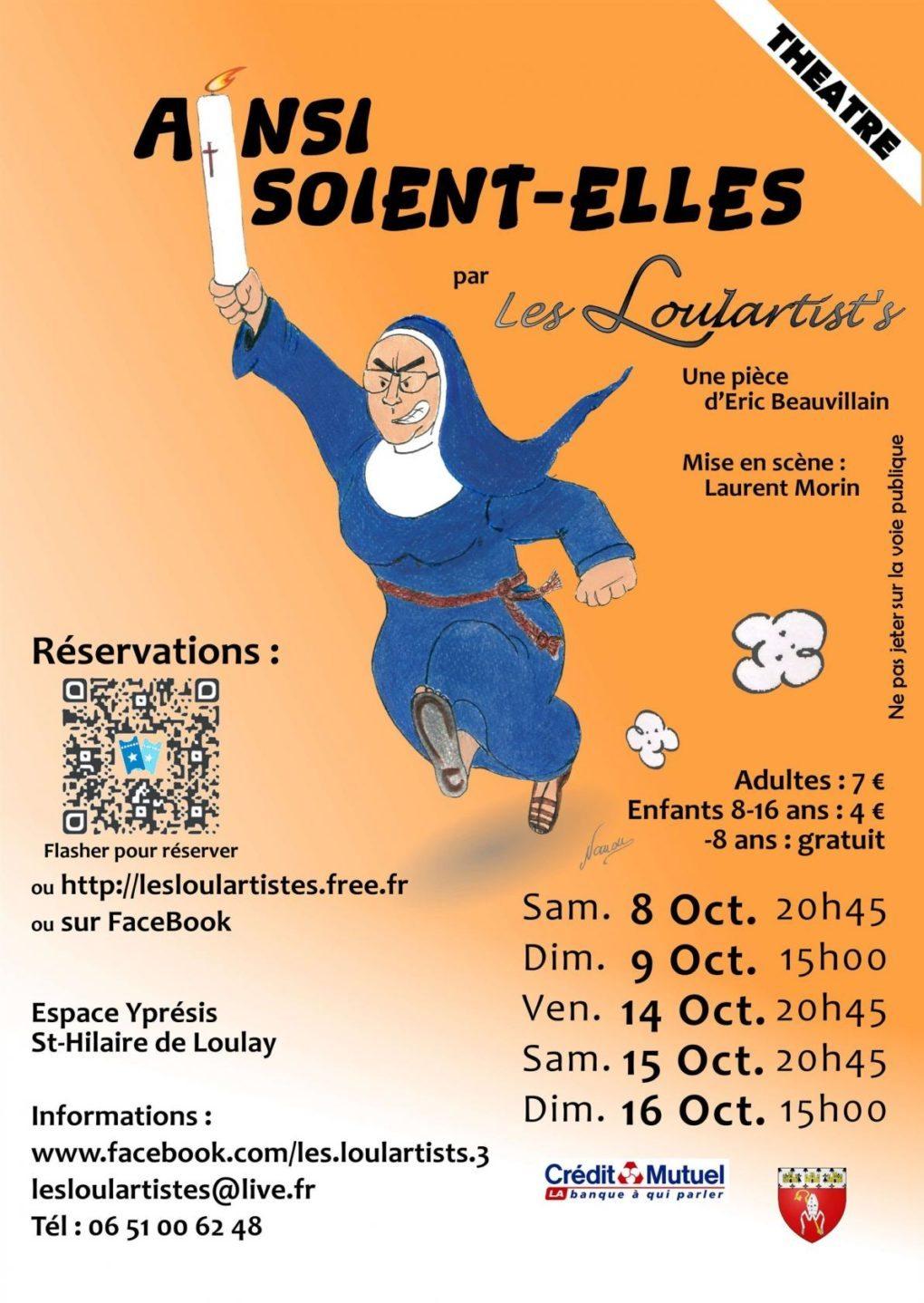 Ainsi-soient-elles Saint-Hilaire-de-Loulay