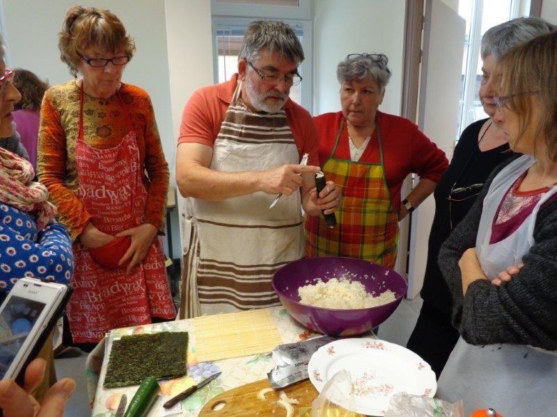 Atelier cuisine santé Saint-Clet