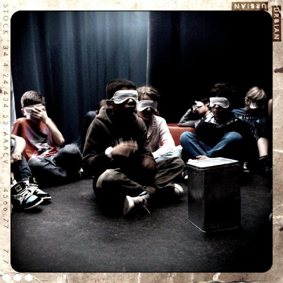 Atelier J'écoute dans le noir Les Herbiers