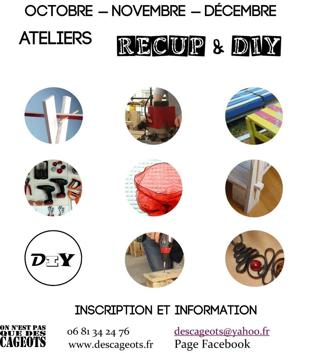 Atelier Récup' : upcycling Saint-Brieuc