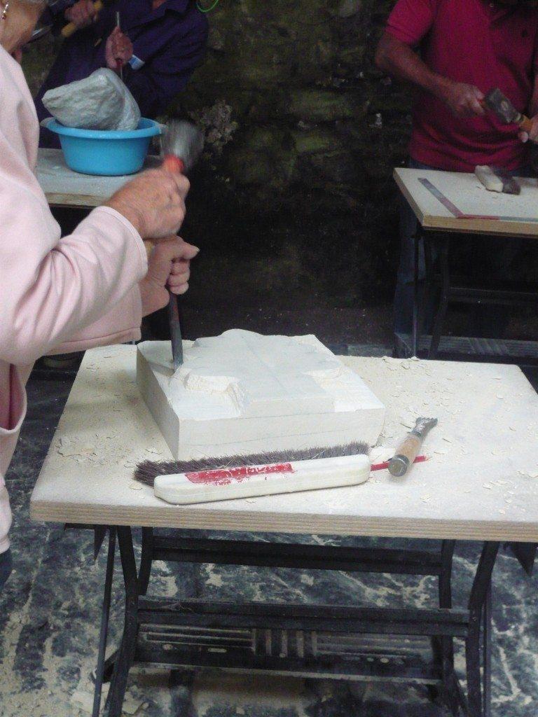 Atelier sculpture Hambye