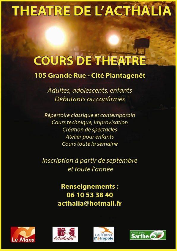 Atelier théâtre Le Mans