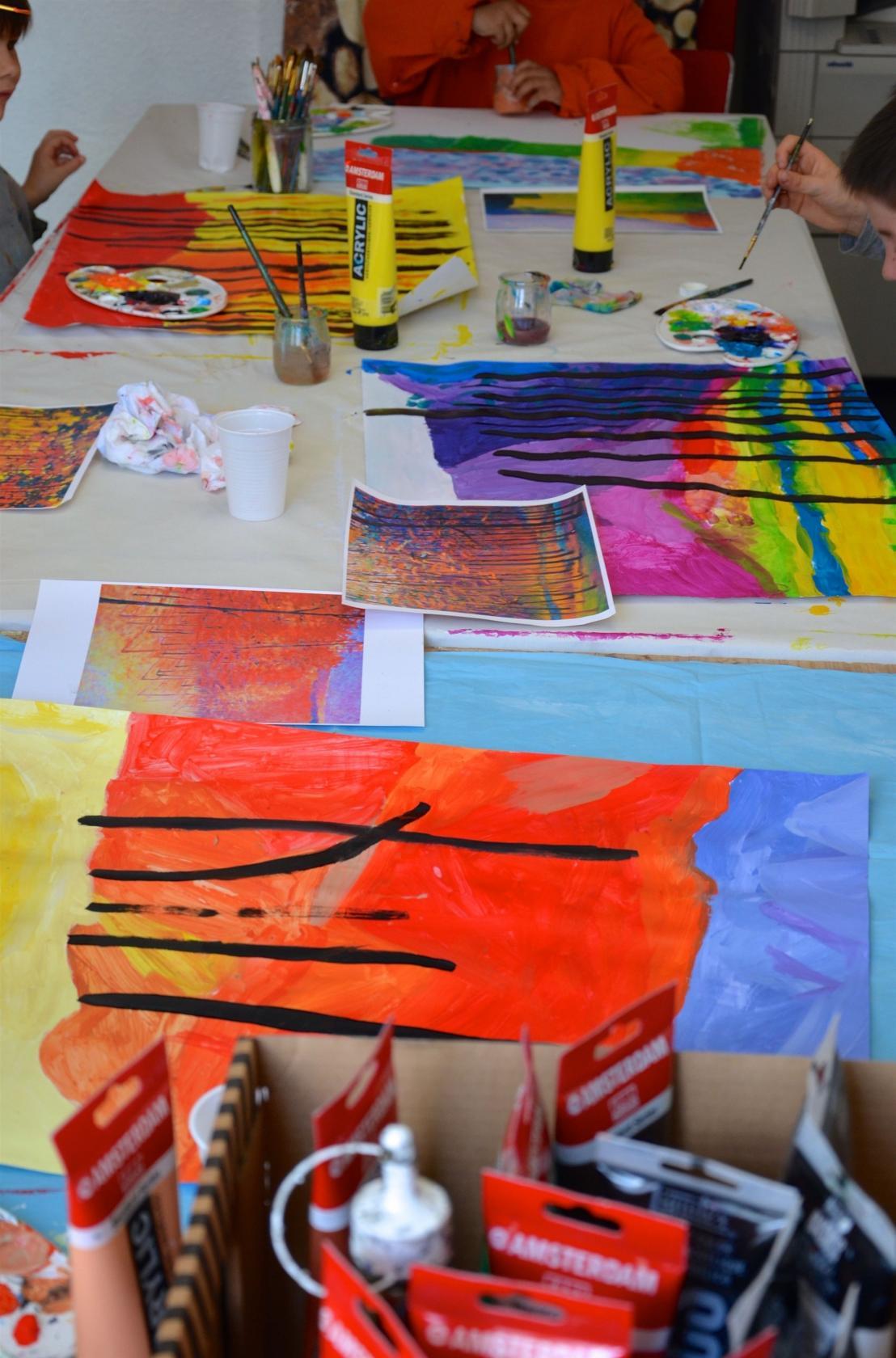 Ateliers d'arts plastiques enfants 3-6 ans Rennes