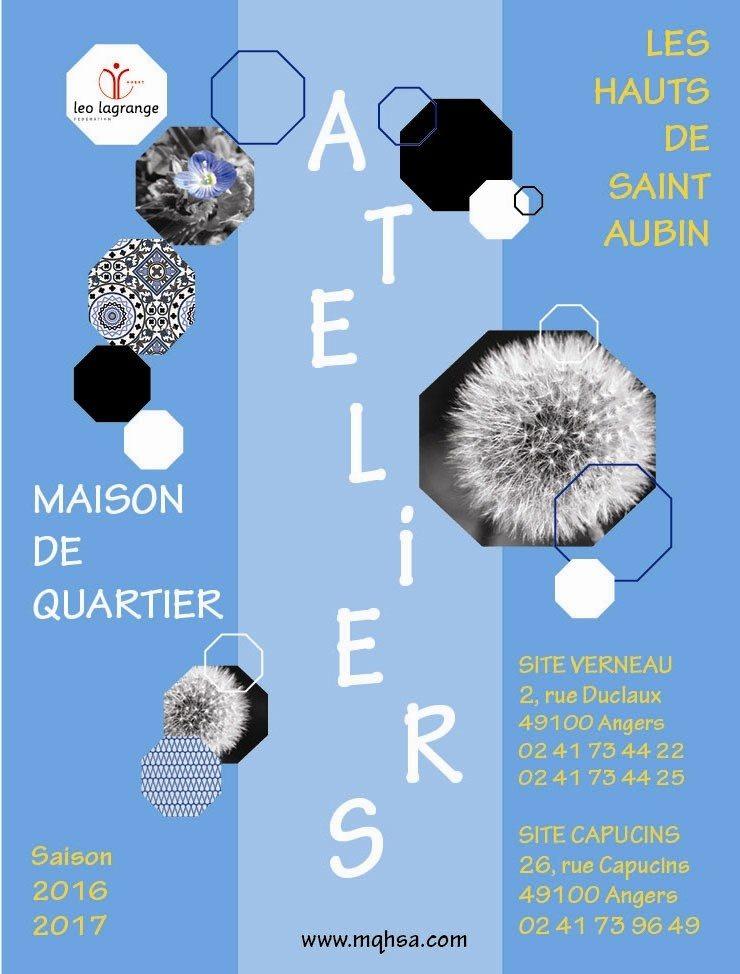 Ateliers hebdomadaires Angers