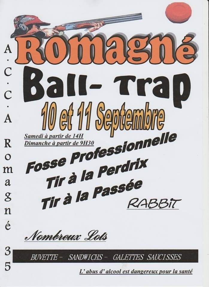 Ball-trap Romagné
