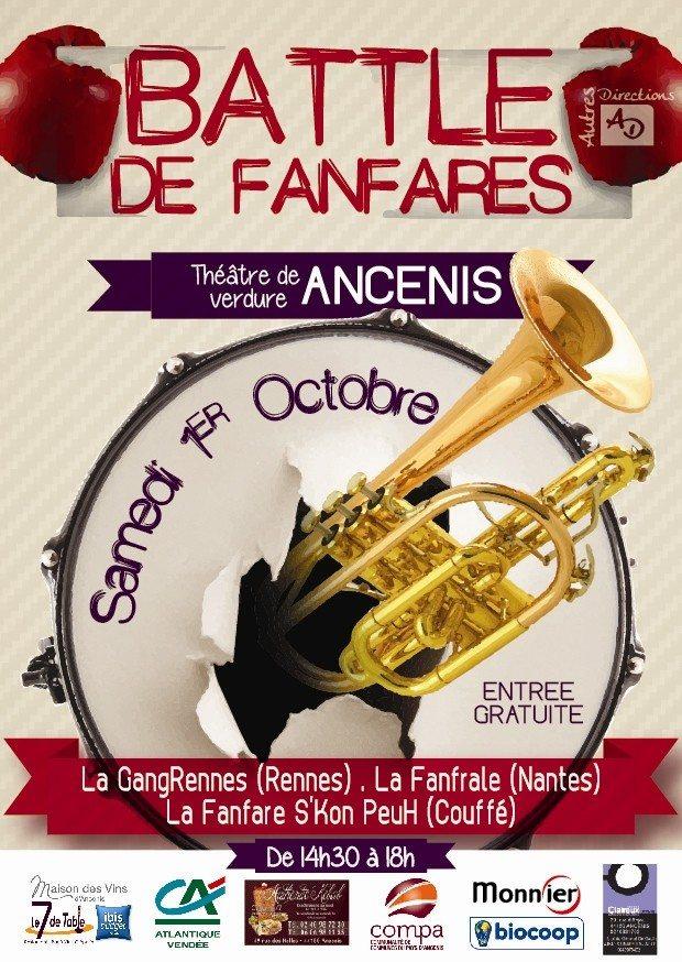 Battle de fanfares Ancenis