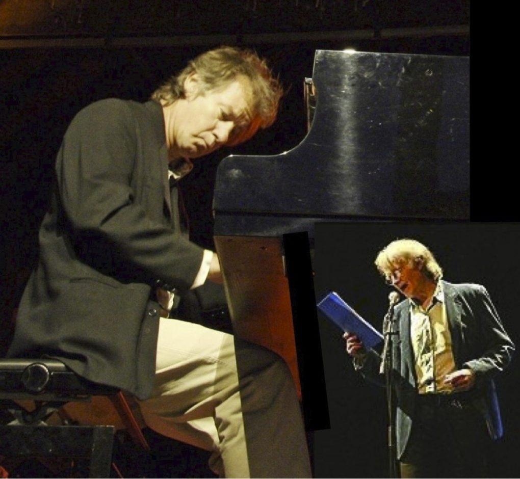 Blue Note, avec Michel Jayat, comédien et Laurent Genty, au piano La Mézière