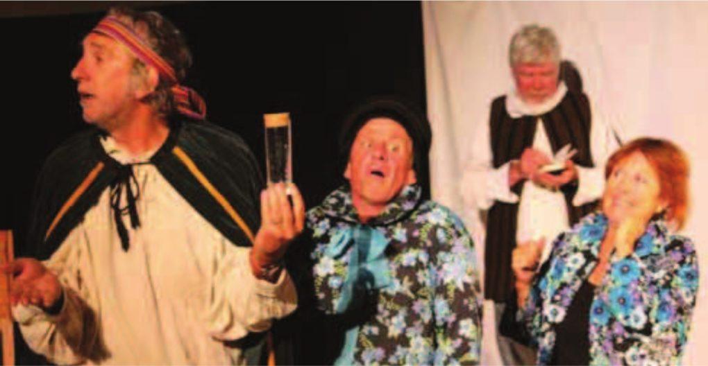 Cabaret Molière par Campagn'Art et la troupe du Coq et de l'Ane Vezin-le-Coquet