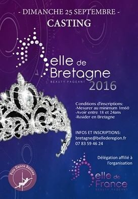 Casting Belle de Bretagne Beauty Pageant Rennes
