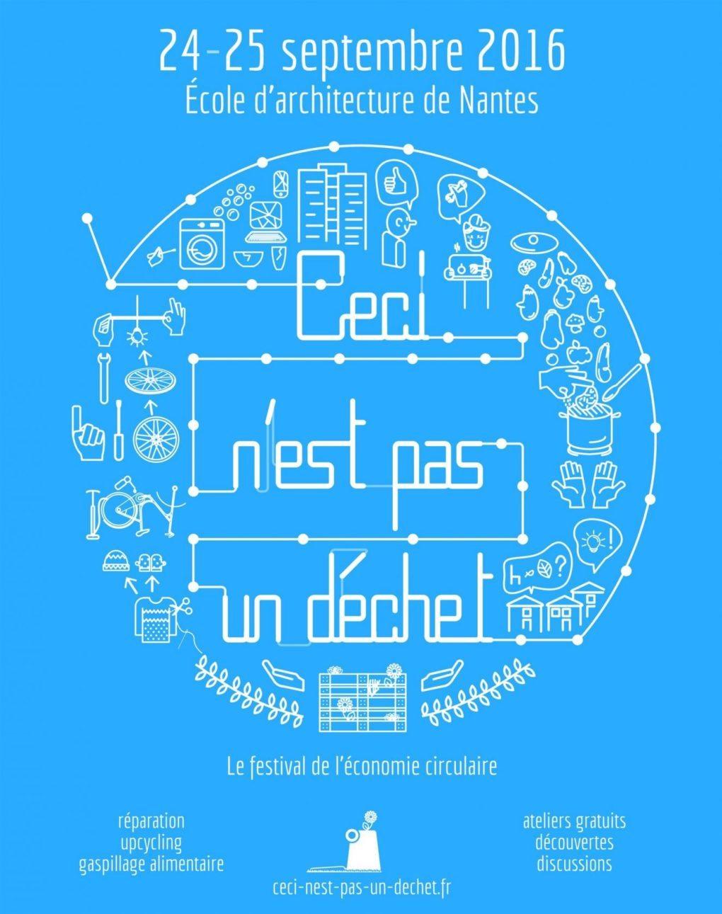 Ceci n'est pas un déchet - Le festival de l'économie circulaire Nantes
