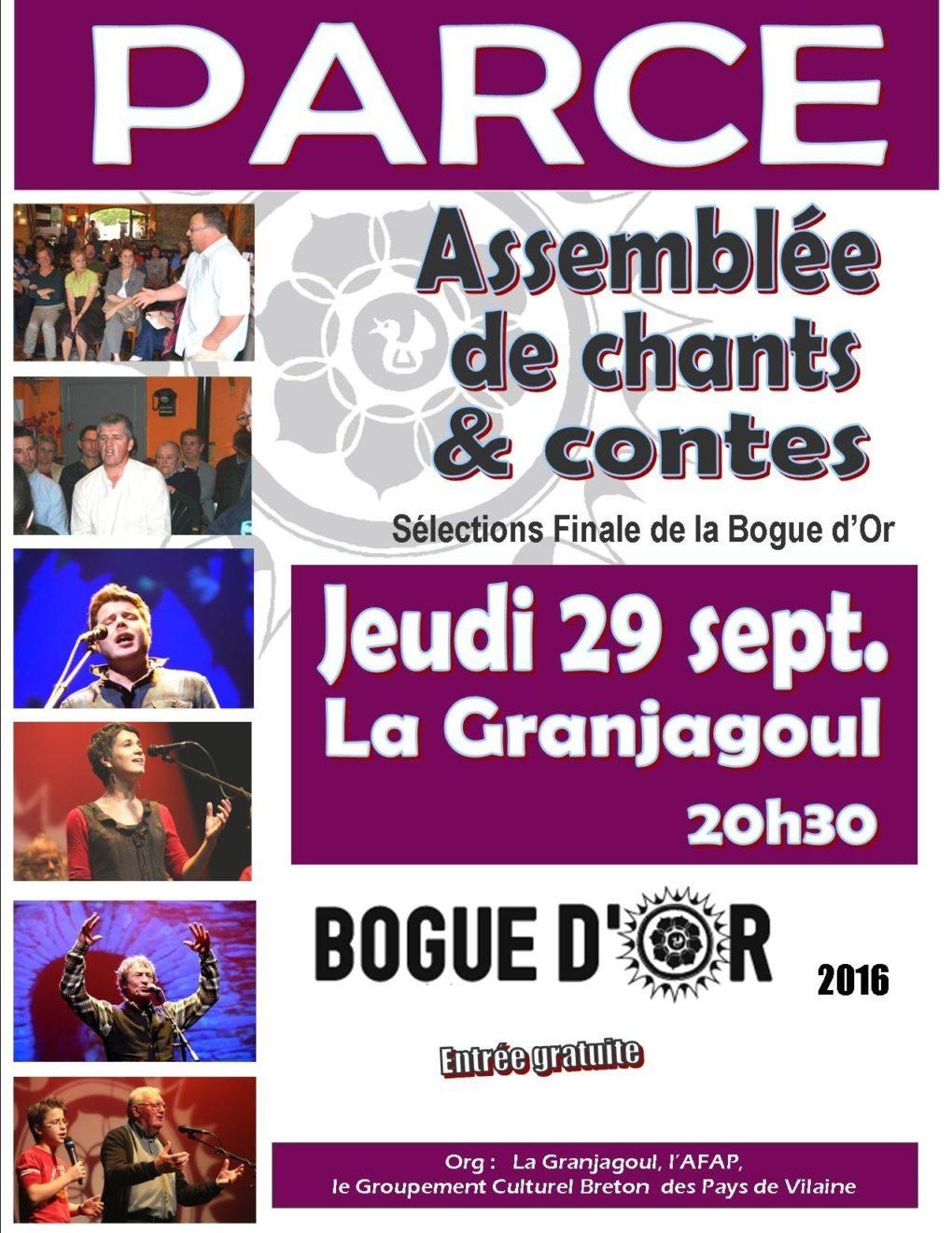 Chant traditionnel : Guadeloupe et Haute-Bretagne Parcé