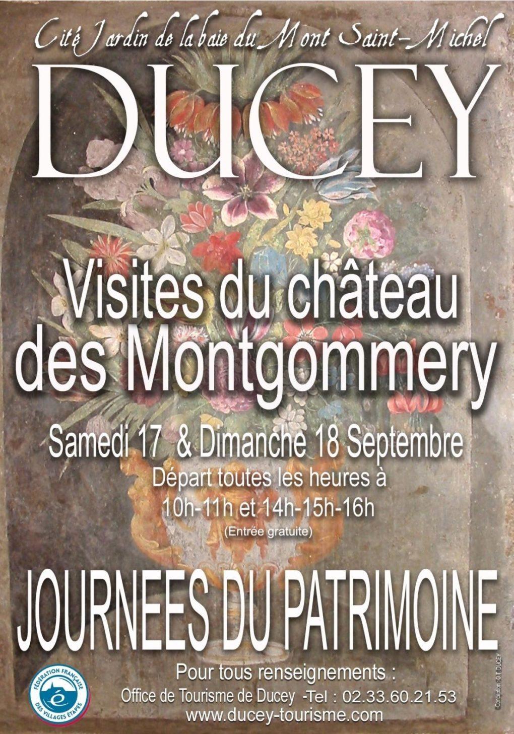 Château de Montgommery Ducey-Les-Chéris