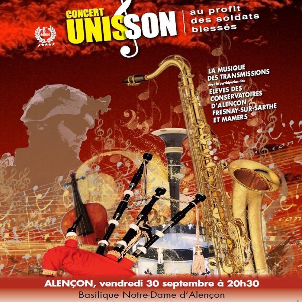 Concert caritatif de musique festive, celtique et classique Alençon
