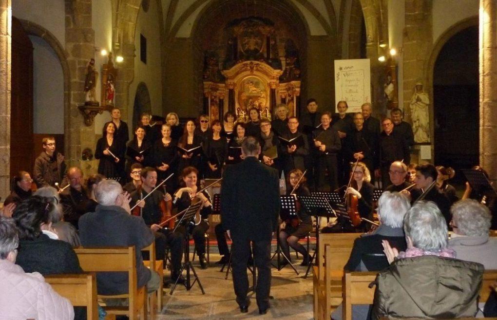 Concert classique avec l'ensemble vocal et instrumental Gauthier Nantes