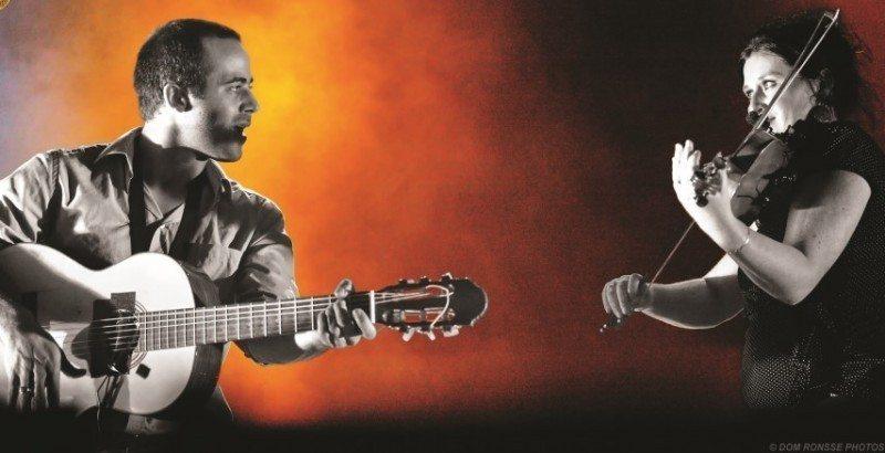Concert de Zama Duo dans le cadre de la nuit des jardins Saint-Gilles-Croix-de-Vie