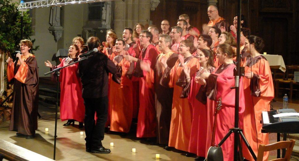 Concert gospel des Chants de coton Saint-Philbert-de-Grand-Lieu