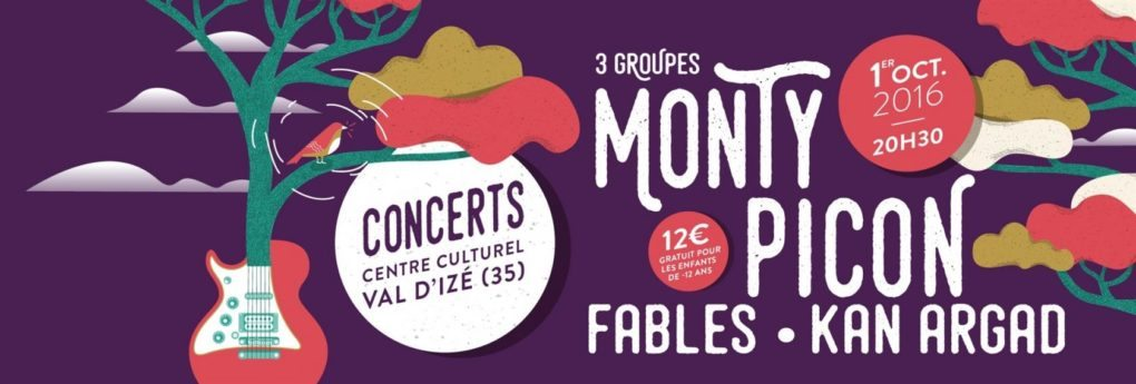 Concert Monty Picon, Fables et Kan Argad Val-d'Izé