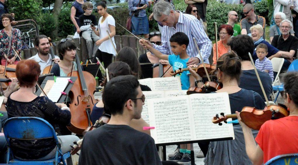 Concert-Promenade de La Philharmonie des 2 Mondes/Philippe Hui Saint-Nazaire