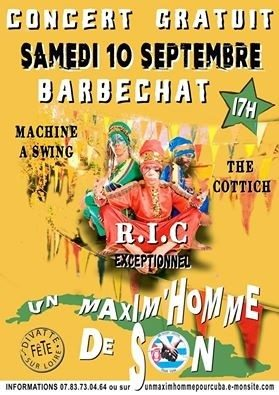 CONCERT RIC, Machine a Swing, The Cottich. Divatte-sur-Loire